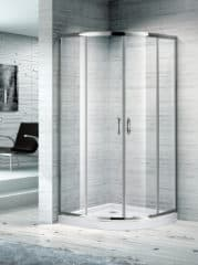 850X850 CURVED CORNER SLIDING SHOWER SCREEN