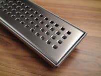 BUILDER RANGE SQUARE FLOOR GRATE