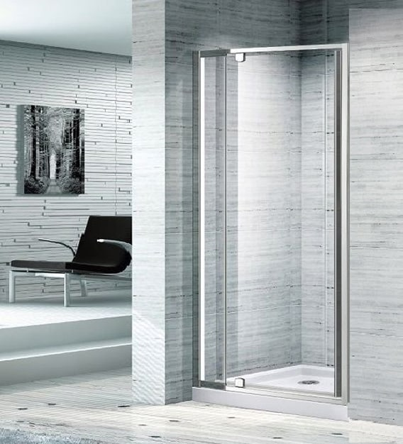 820 Full Frame Adjustable Front Only Shower Screen Melbourne Bathroom Shop
