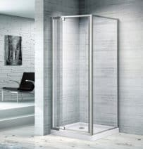 820X820 FULL FRAME ADJUSTABLE SHOWER SCREEN