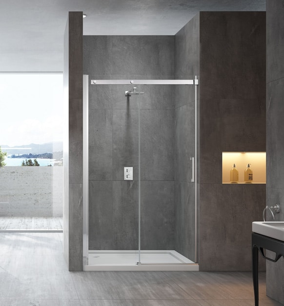 Ss20 1150 Sliding Door Front Only Shower Screen