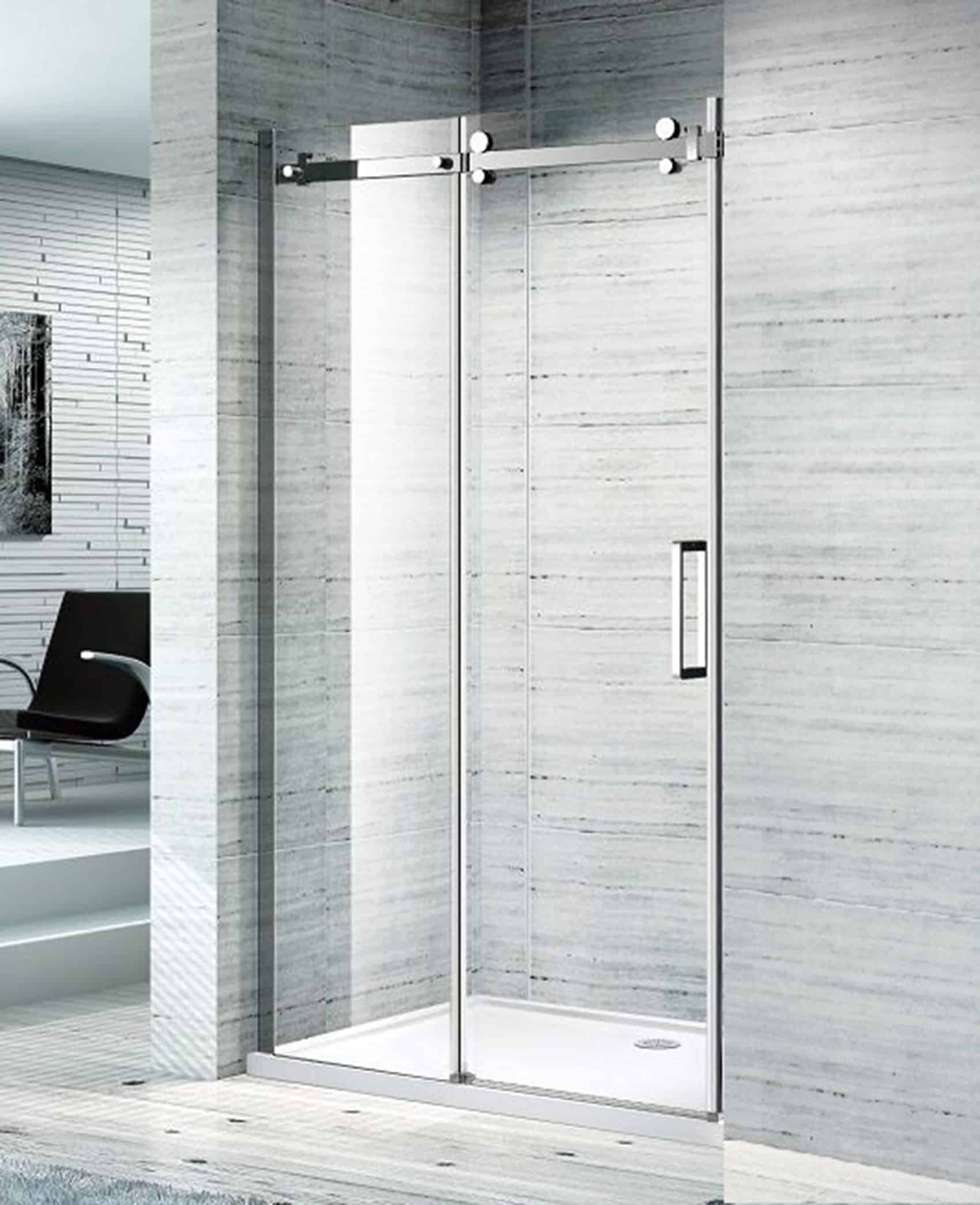SS07 1200 SLIDING DOOR FRONT ONLY SHOWER SCREEN