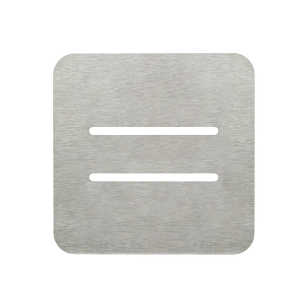 NEW-FLINDERS-SHOWER-BASE-METALLIC-STAINLESS-STEEL-FINISH-WASTE-COVER